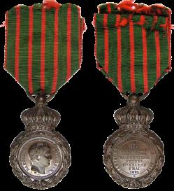 Medaille sainte helene 1860